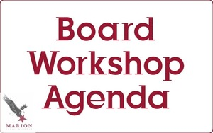 Board of Ed Workshop Agenda