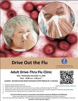 Adult Drive Thru Flu Clinic